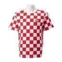【VANSウェア】AP CHECKER AOP FT SS CREW ヴァンズ ショートスリーブTシャツ VN0A3ZNZIZQ 19SP RACING RED