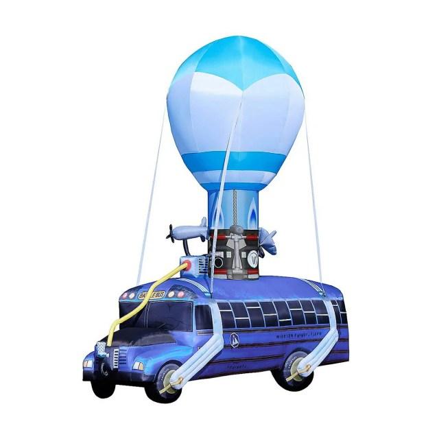 バトルバス バルーン 5m フォートナイト 膨らませる 風船 室内 会場 装飾