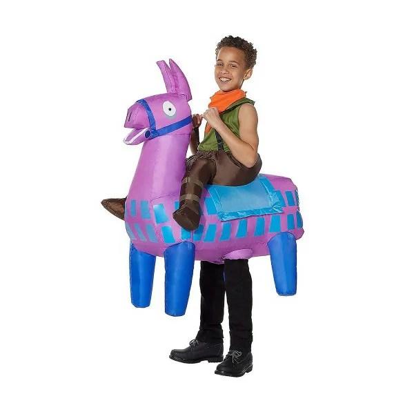 フォートナイト 膨らむ ラマ コスチューム 子供 コスプレ 衣装 テレビゲーム