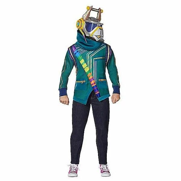 フォートナイト コスプレ DJヨンダー 子供 コスチューム 服 衣装 ハロウィン イベント 仮装 通常便なら送料無料