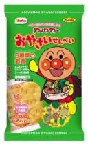 【ケース販売】【栗山米菓】アンパンマンのおやさいせんべい (2枚×7袋)×12袋 米菓子  02P03Dec16