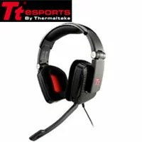 【TT eSPORTS】SHOCK Headset HT-SHK002ECBL(ブラック)