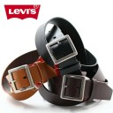 LEVI'S リーバイス 牛革 ギャリソン レザーベルト 全3色 15116023 メンズ