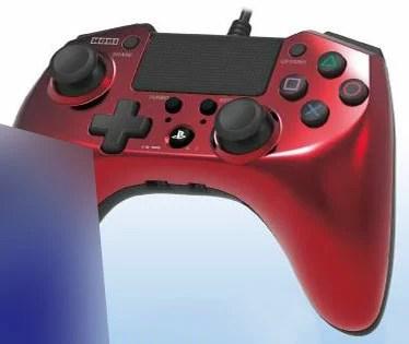ホリパッドFPSプラスfor PlayStation4 レッド[ホリ]《取り寄せ※暫定》
