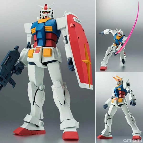 ROBOT魂 〈SIDE MS〉 RX-78-2 ガンダム ver. A.N.I.M.E. 『機動戦士ガンダム』[バンダイ]《発売済...