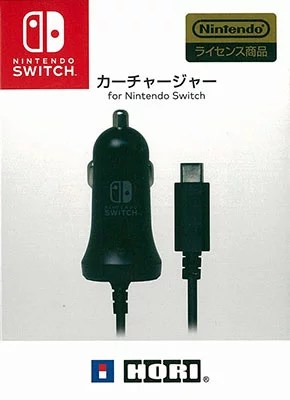 カーチャージャー for Nintendo Switch[ホリ]《取り寄せ※暫定》