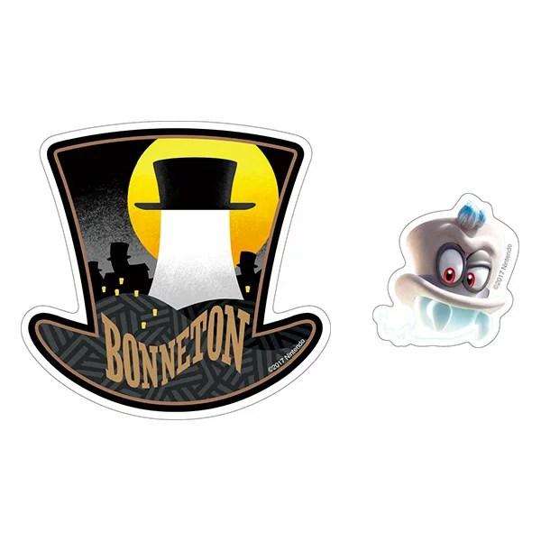 スーパーマリオオデッセイ トラベルステッカー(5) 帽子の国[エンスカイ]《12月予約》