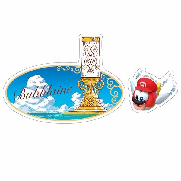 スーパーマリオオデッセイ トラベルステッカー(8) 海の国[エンスカイ]《発売済・在庫品》