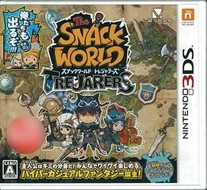 3DS スナックワールド トレジャラーズ[レベルファイブ]【送料無料】《発売済・在庫品》