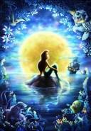 ジグソーパズル ディズニー 月夜の願い(リトル・マーメイド) 1000ピース(D1000-027)[テンヨー]【送料無料】《発売済・在庫品》