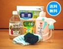 [ナチュクリお掃除福袋]重曹・ビネガー・クエン酸・台所用せっけんのお試しセット[送料無料(一部地域は別途送料かかります)