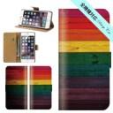 スマホケース 手帳型 iPhone 12 SE2 11 pro XR 全機種対応 木製風 木風 ウッド風 wood ラスタ ……