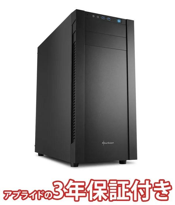 (3年保証 BTOゲーミングデスクトップパソコン)フォートナイト推奨モデル(基本構成 CPU:Core i5 8400/メモリ:DDR4 8GB/SSD:240GB/HDD:?/電源:750W 80PLUSブロンズ/グラボ:Geforce GTX1050Ti)(BG)