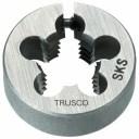 トラスコ ユニファイネジ用丸ダイス 並目 38径 呼び寸UNC5/8 ※取寄品 T38D-5/8UNC11