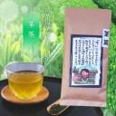【茎茶100g】(八女茶)煎茶の茎部分の白折【麻生茶舗】玄米茶げんまい茶緑茶日本茶煎茶玉露八女茶