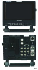 PROTECH プロテック ビデオカメラ HD-SDI対応4:3モニター HDM-90WV