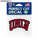 【あす楽対応】ウィンクラフト ネバダ大学ラスベガス校 レベルズ ステッカー 【UNLV REBELS NCAA PERFECT CUT DECAL】 WINCRAFT [for30..