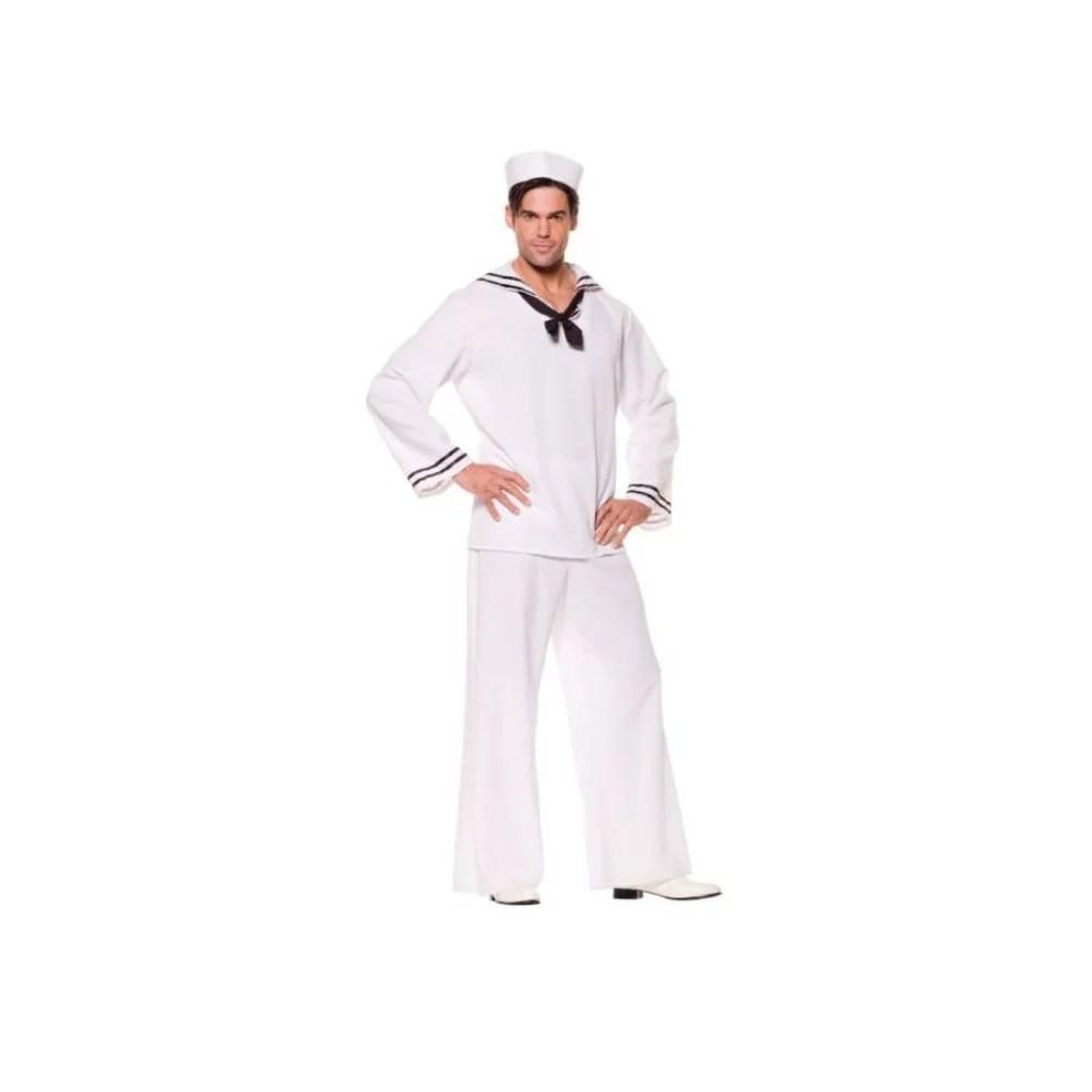 水兵さん 船乗り 衣装、コスチューム 大人男性用 セーラーシャツ
