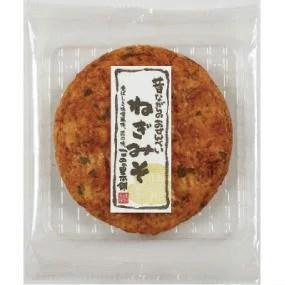 ●こめの里 大判ねぎみそ 煎餅 1枚x15入【1箱】■c6#680-150D
