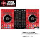 12inch SKINZ / Pioneer DDJ-SX2 SKINZ(RED/BLACK) 【DDJ-SX2用スキン】