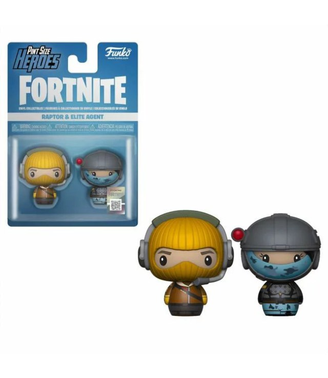 ■予約■[FUNKO(ファンコ)フィギュア] FUNKO PINT SIZE HEROES: Fortnite S1a - Raptor & Elite Agent <フォートナイト>