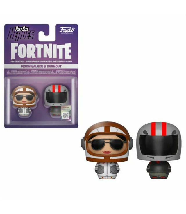 ■予約■[FUNKO(ファンコ)フィギュア] FUNKO PINT SIZE HEROES: Fortnite S1a - Moonwalker & Burnout <フォートナイト>
