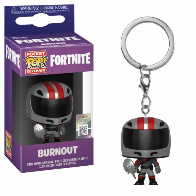 [FUNKO(ファンコ)] FUNKO POP! KEYCHAIN: Fortnite S2 - Burnout <フォートナイト>