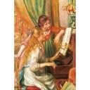ジグソーパズル 300ピース 名画 ピアノを弾く少女たち 93-107【知育玩具】