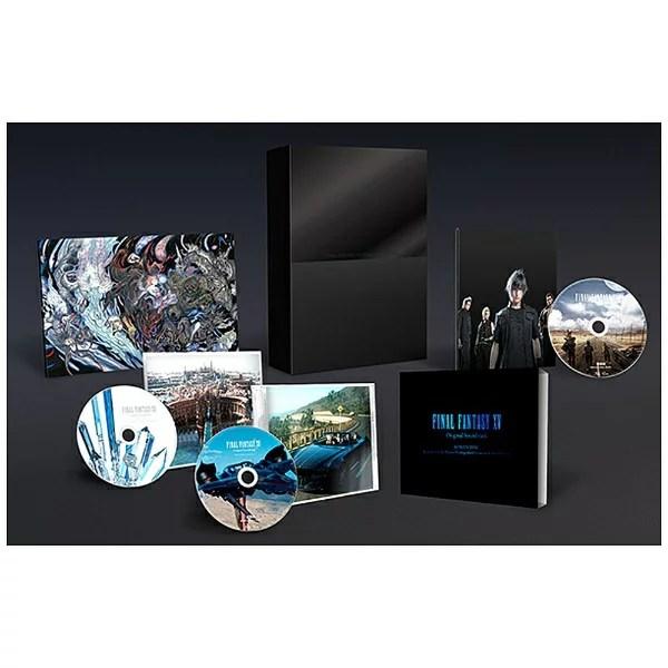 【送料無料】 ソニーミュージックディストリビューション FINAL FANTASY XV Original Soundtrack(映像付サントラ) 初回生産限定特装盤 【ブルーレイ ソフト】