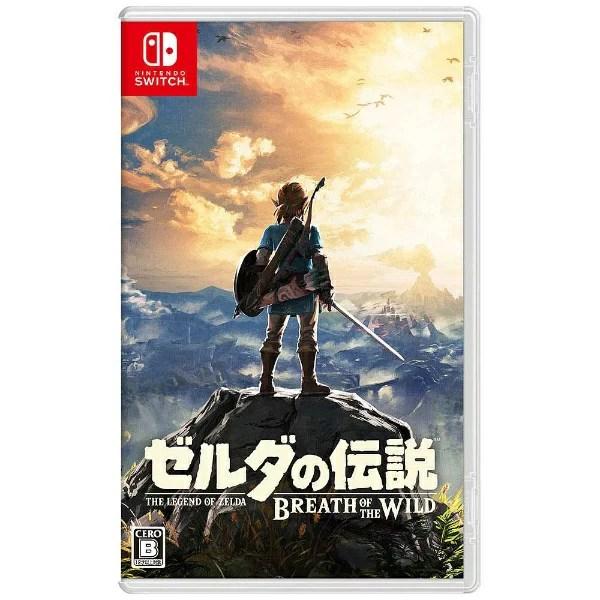 任天堂 Nintendo ゼルダの伝説 ブレス オブ ザ ワイルド【Switchゲームソフト】[ニン