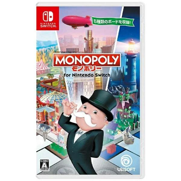 ユービーアイソフト モノポリー for Nintendo Switch【Switchゲームソフト】