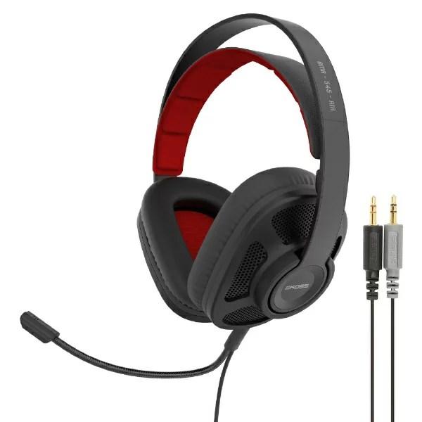 KOSS コス GMR545AIR ゲーミングヘッドセット KOSS ブラック [φ3.5mmミニプラグ /両耳 /ヘッドバンドタイプ][GMR545AIR]
