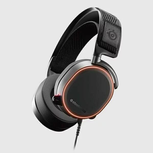 STEELSERIES スティールシリーズ 61486 有線ゲーミングヘッドセット Arctis Pro [φ3.5mmミニプラグ+USB /両耳 /ヘッドバンドタイプ][61486]