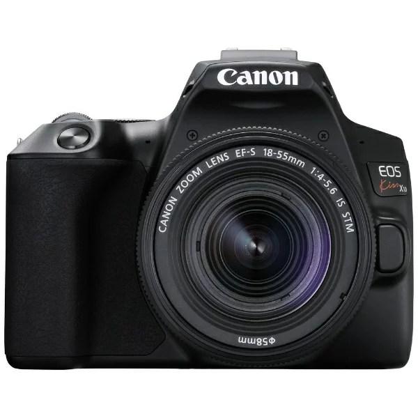 キヤノン CANON EOS Kiss X10 デジタル一眼レフカメラ EF-S18-55 IS S