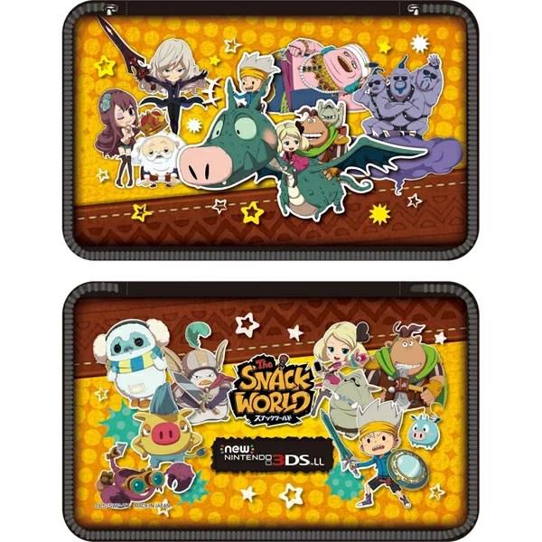 スナックワールド new NINTENDO 3DS LL 専用 ポーチ 大集合 Ver.