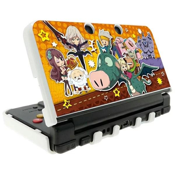 スナックワールド new NINTENDO 3DS 専用 カスタムハードカバー 大集合 Ver.