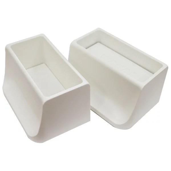 WAKAI ツーバイフォー材 2×4材専用壁面突っ張りシステム ディアウォール ホワイト(白)上下パッドセット DWS90 棚・ラック・木製 4903768555392 あす楽