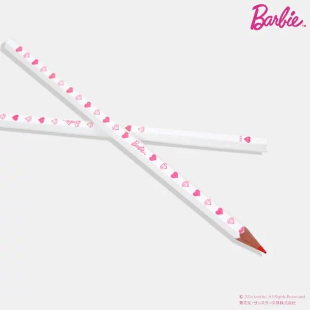 【鉛筆お名前入れ無料】Barbie<バービー> 赤鉛筆 六角軸 2本組 SB-SP003 バービー新入学・限定シリーズ 4560182210629 [M便 1/15]