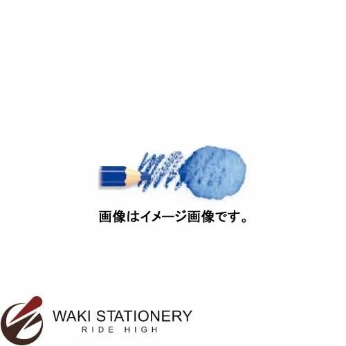 三菱鉛筆 水彩色鉛筆 ユニ ウォーターカラー (インク色:ライトコバルトブルー) / 6セット