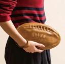 【セトクラフト】 ラグビーボール型 クラッチバッグ ラグビー セカンドバッグ SF3955