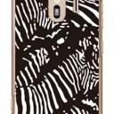 【送料無料】 Zebra camo ブラック (クリア) design by ROTM / for らくらくスマートフォン ……