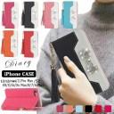 iphone12 手帳型ケース ミラー付 ストラップ付 ピンクリボン アイフォン11Pro ケース 手帳型 ……