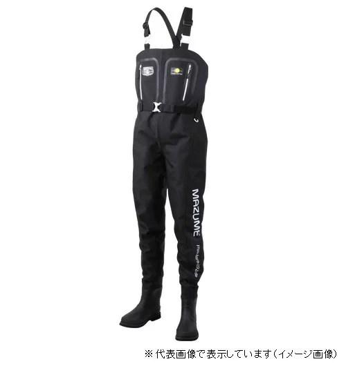【casting_d】mazume(マズメ) ブーツフットゲームウェイダー(フェルトSP) ブラック L