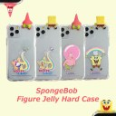 【全商品10%OFF】【並行輸入品】スマホケース SpongeBob Figure Jelly Hard Case iphone xs ip……
