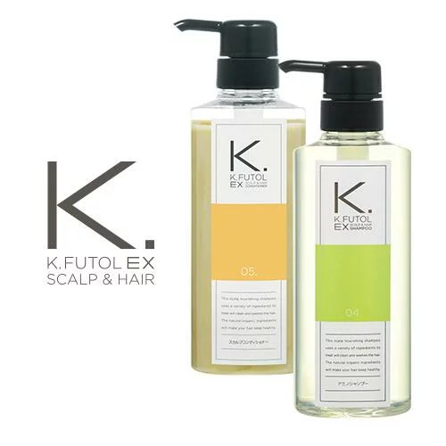 2本セット/ケフトルEX(kfutol)髪のミライを育む大人の頭皮ケア基礎セットA/アミノシャンプー