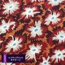 リバティプリント《タナローン/Atelier FLORALS》Firecracker Floral(ファイヤークラッカーフローラル)23401126-SD20C(10cm単位)