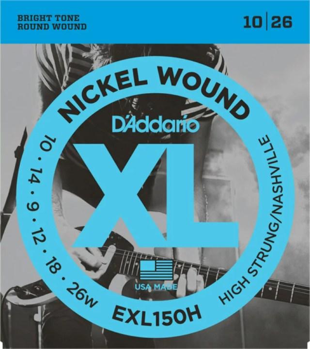 D'Addario EXL150H H.Str/N.Tune