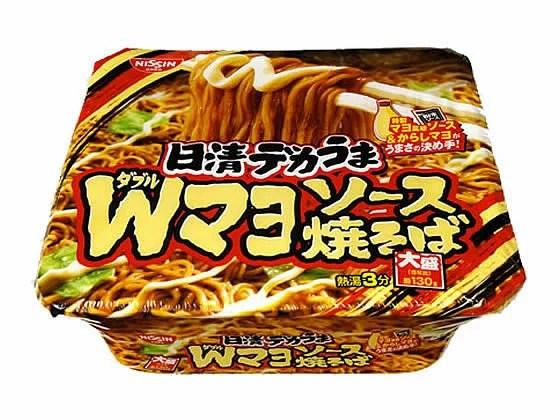 日清食品/日清デカうま Wマヨソース焼そば 153g - ココデカウ