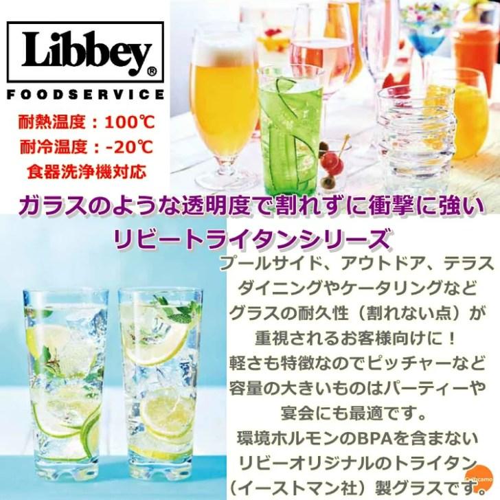 「トライタン グラス Libbey」の画像検索結果