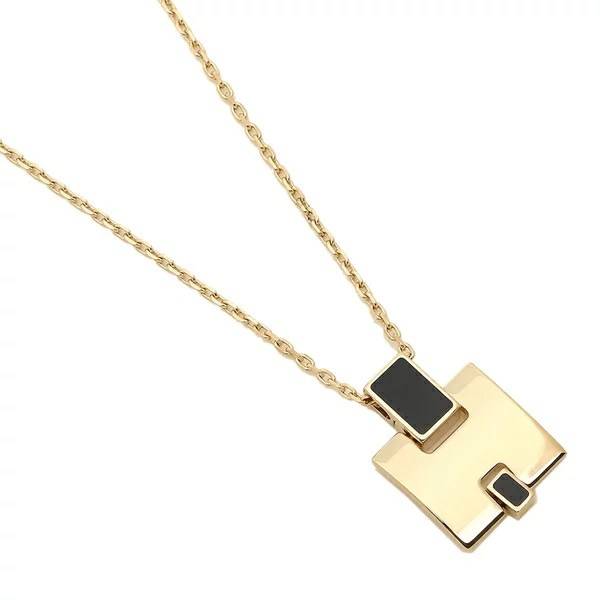 エルメス ネックレス アクセサリー レディース HERMES H146201F 03 ゴールド ブラック